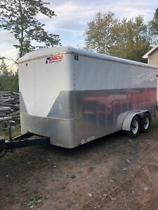 Pace 7x16 enclosed trailer