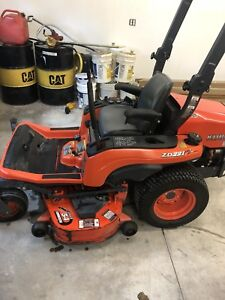 Kubota zero turn diesel mower