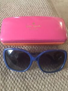 Kate spade sunglasses and case! $25