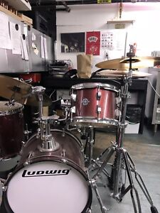Ludwig Breakbeats drum set all include ready to play