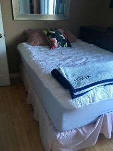 Adjustable Double Mattress and Base