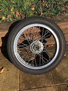 "Xs650 front 19"" spoked wheel Katoomba Blue Mountains Preview"