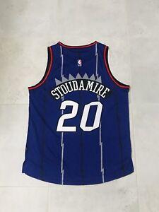 Damon Stoudamire Toronto Raptors NBA Basketball Jersey