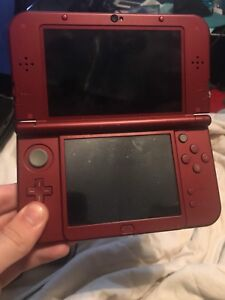 RED Nintendo DS XL With 5 Games and Charger!!