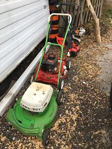 Gas Mowers, Roto-tiller, Weed eaters, $30.00 ..see whole ad