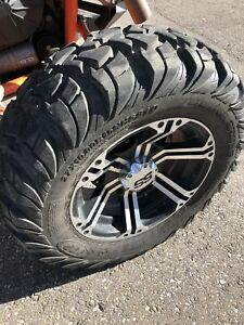 RZR XP rims and tires.