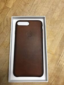 OEM Apple iPhone 7+ Leather Case