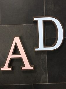 Restoration Hardware Wall Letters