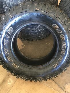 4x4 Big Horn Maxxis Used Tyres