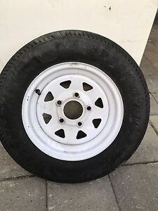 Trailer spare tire JUST ONE!!!