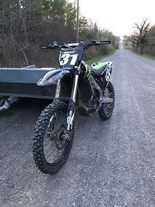 2010 kx 250f with ownership