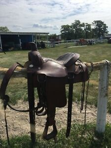 Roping Saddle | Kijiji in Manitoba  - Buy, Sell & Save with