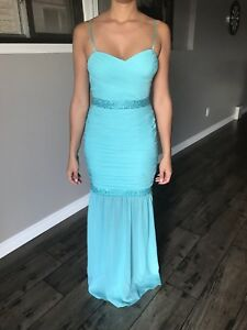 Blue Evening Gown- Like New
