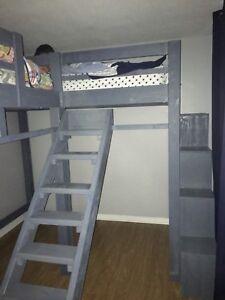L-Shaped double loft