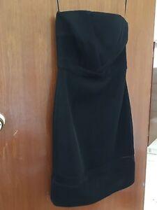 Seduce black sz 10 strapless dress Midvale Mundaring Area Preview