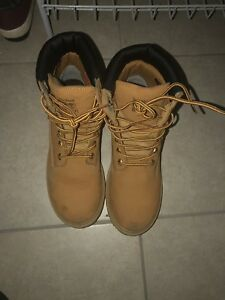 Ladies timberland work boots steel toe