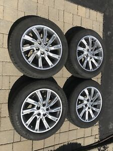 "17"" OEM Toyota Camry Alloy Wheels w/ All Season Tires"