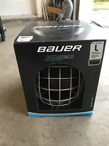 Bauer IMS 5.0 Hockey Helmet & Cage Size Large