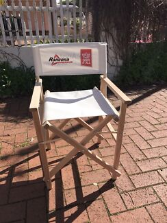 Set of three outdoor chairs