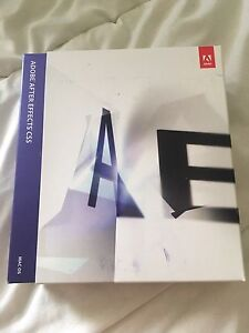 Adobe After Effects CS5 MAC OS