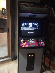 Stand up arcade game (street fighter)