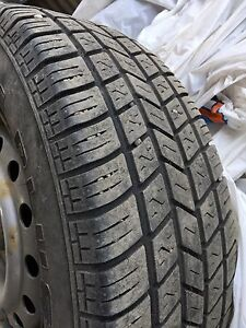 2 All season tires on rims