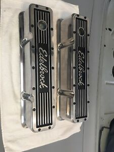 Edelbrock valve covers for Gen 1 Small Bock Chevy