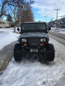 1994 jeep yj for swap/trade