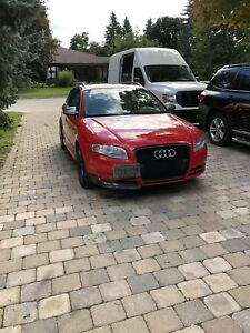 2007 Audi s4 fully strait piped extremely loud