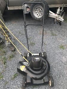 Black decker electric mower