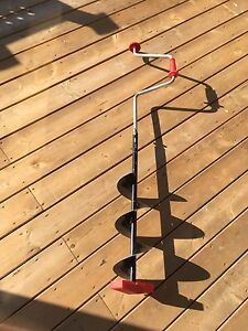 8 inch hand auger