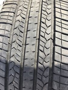 Good year summer tires like new 225/65/17