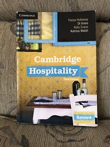 Cambridge Hospitalty Revised Third Edition Textbook. Marayong Blacktown Area Preview