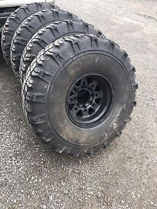 """38"""" Military tires - Great Shape"""