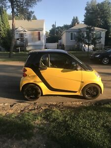 2013 SMART FORTWO CITY FLAME EDITION