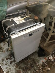 Washer and microwave