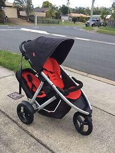 Phil and Teds Vibe Double Pram Daisy Hill Logan Area Preview