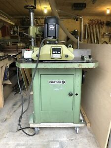 Poitras 5hp single phase shaper with power feeder