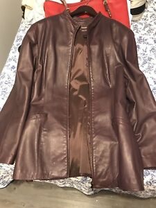 Plus size Danier Leather Coat