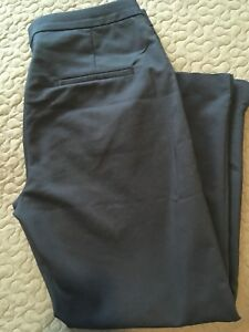 H&M navy blue cropped pant - size 10