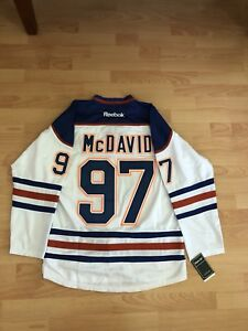 McDavid jersey I have 2 size large and 1 Xl men,s $50 each.