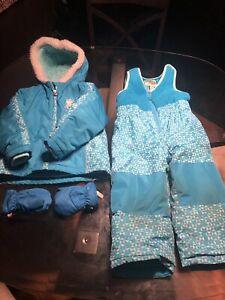 Oshkosh 2 pc snow suit. 2T
