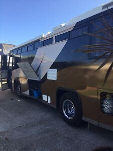 9m Mercedes motorhome Urangan Fraser Coast Preview