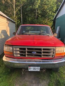 1995 Ford F-150 and 2 broncos