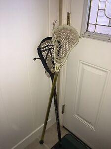 Free used Lacrosse sticks