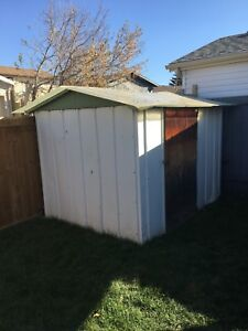 8'x6' shed