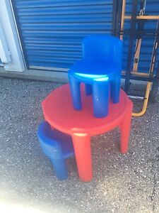 Little Tykes table and chair set