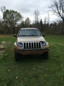 2005 Jeep Liberty needs motor