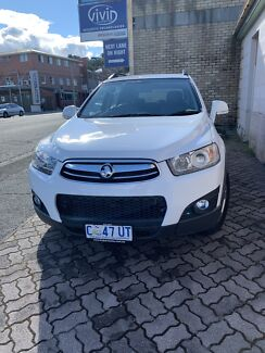 2012 Holden Captiva CX 7 series for sale Hobart CBD Hobart City Preview
