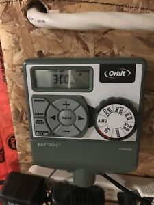 Orbit 6 zone irrigation timer
